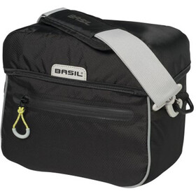 Basil Miles Handlebar Bag 6l black lime